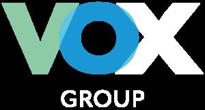 VOX GROUP logo dark
