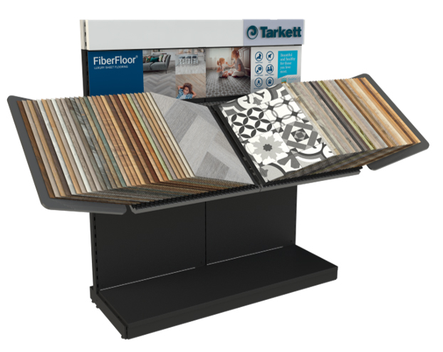VOXSP Tarkett Book Style Display Unit